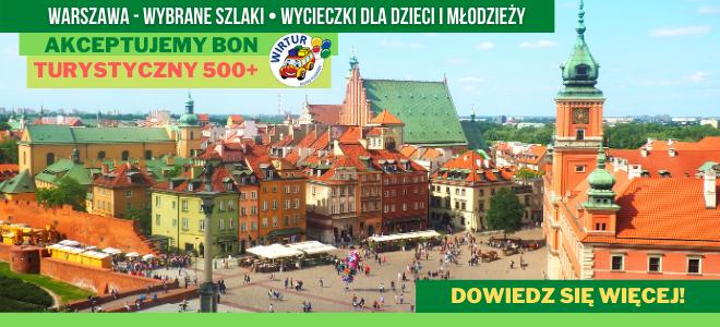 Wycieczki szkolne - bezpiecznie po Warszawie